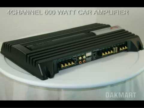 Sony Xplod XmZr604 4Channel 600 Watt Car Amplifier