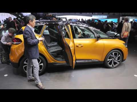 Genève 2016: Renault Scenic, interview Laurens vd Acker - by Autovisie TV