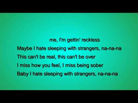 Sleeping With Strangers Lyrics - Jake Miller
