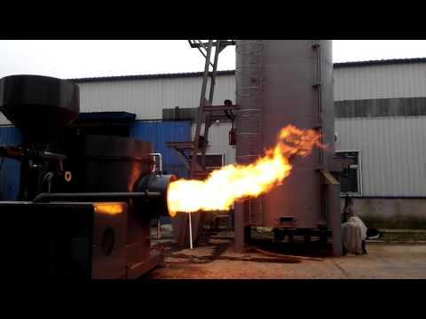 wood pellet burner/wood pellet gasifier burner for coal grate boiler