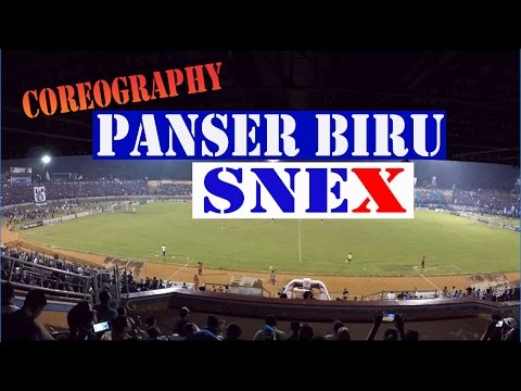 "Koreo PANSER BIRU - SNEX ""85"" PSIS 1 VS 0 PPSM"