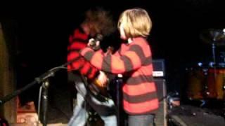 11 year old nirvana kid on stage with nervana in nuneaton 2 kurt cobains