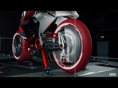 CGI Breakdown - Bimota EB1 Concept