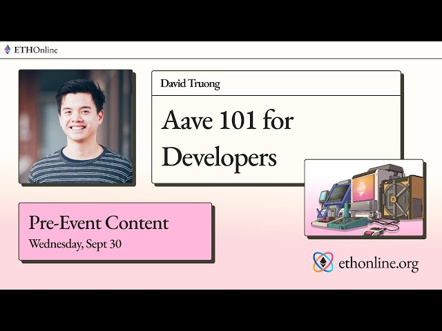 ETHOnline 🛠️ Aave 101 for Developers