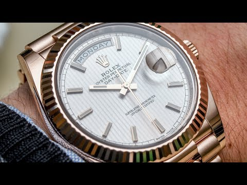 """Spending Time: All About The Rolex Day-Date """"President"""" Watch 