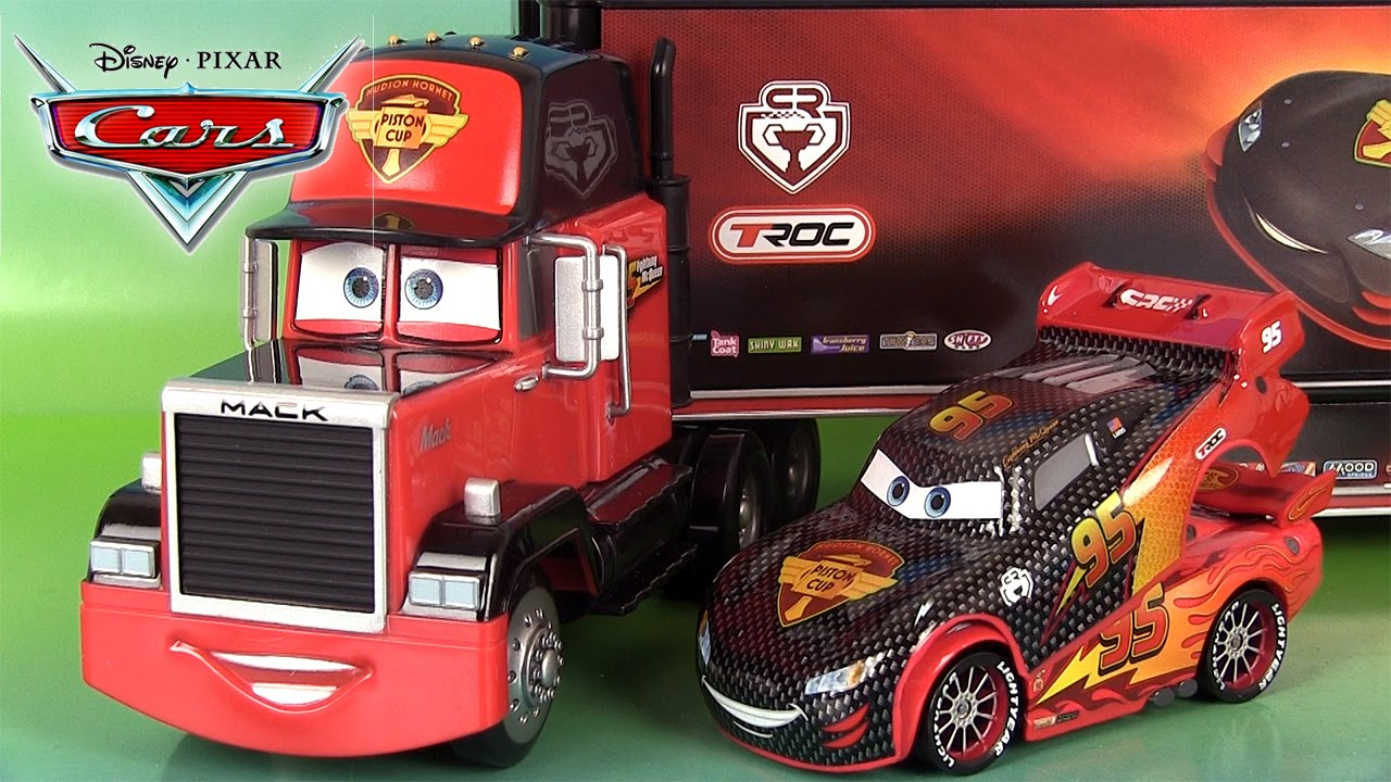Disney cars lanceur cars carbon racer mack hot rod flash - Mcqueen flash mcqueen ...