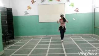 little girl freestyle dance