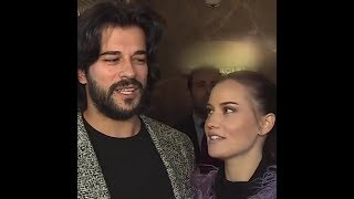 BURAK OZCIVIT AND FAHRIYE EVCEN ANNOUNCING THE PREGNACY WITH ENGLISH SUBS