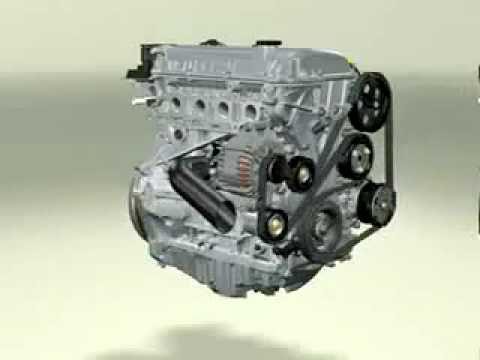 FORD DuraTec Engine 3D Simulation  YouTube