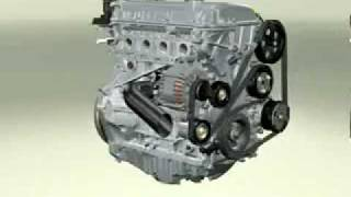 FORD DuraTec Engine 3D Simulation