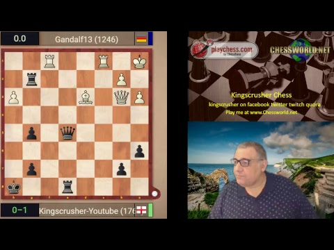 Playchess.com Banter Blitz with Kingscrusher