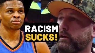 MUST WATCH! BANNED RACIST UTAH JAZZ FAN parody interview about RUSSELL WESTBROOK!
