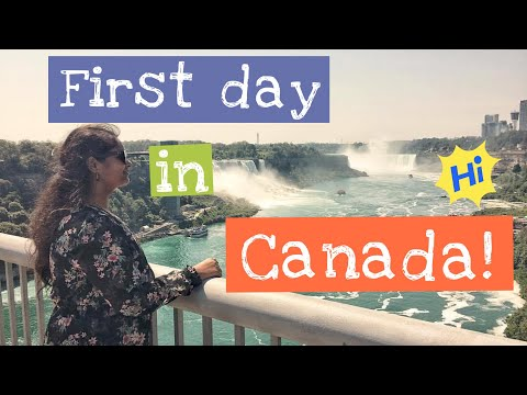 "Vlog#3 ""My first day in Canada"" - !! An Indian Engineer !!"