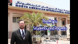 Parents and Students thank you for believing in us.