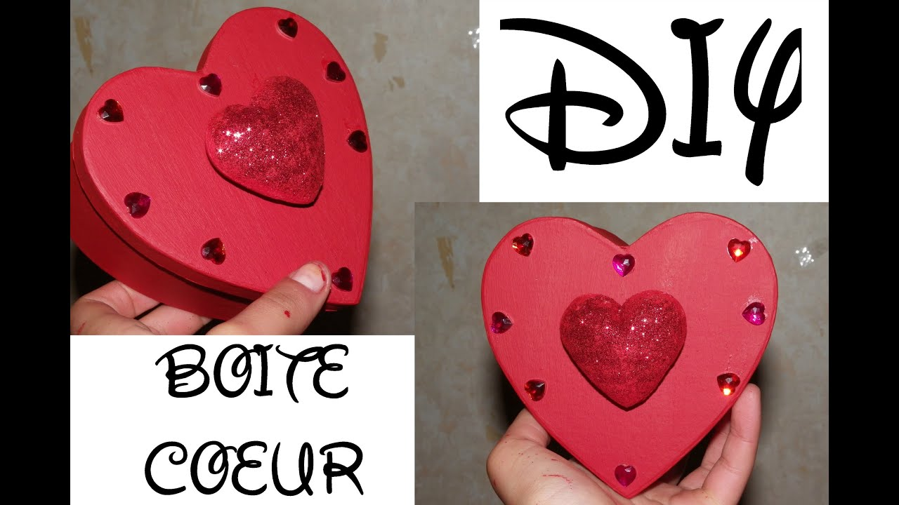 diy boite coeur saint valentin f te des m res. Black Bedroom Furniture Sets. Home Design Ideas