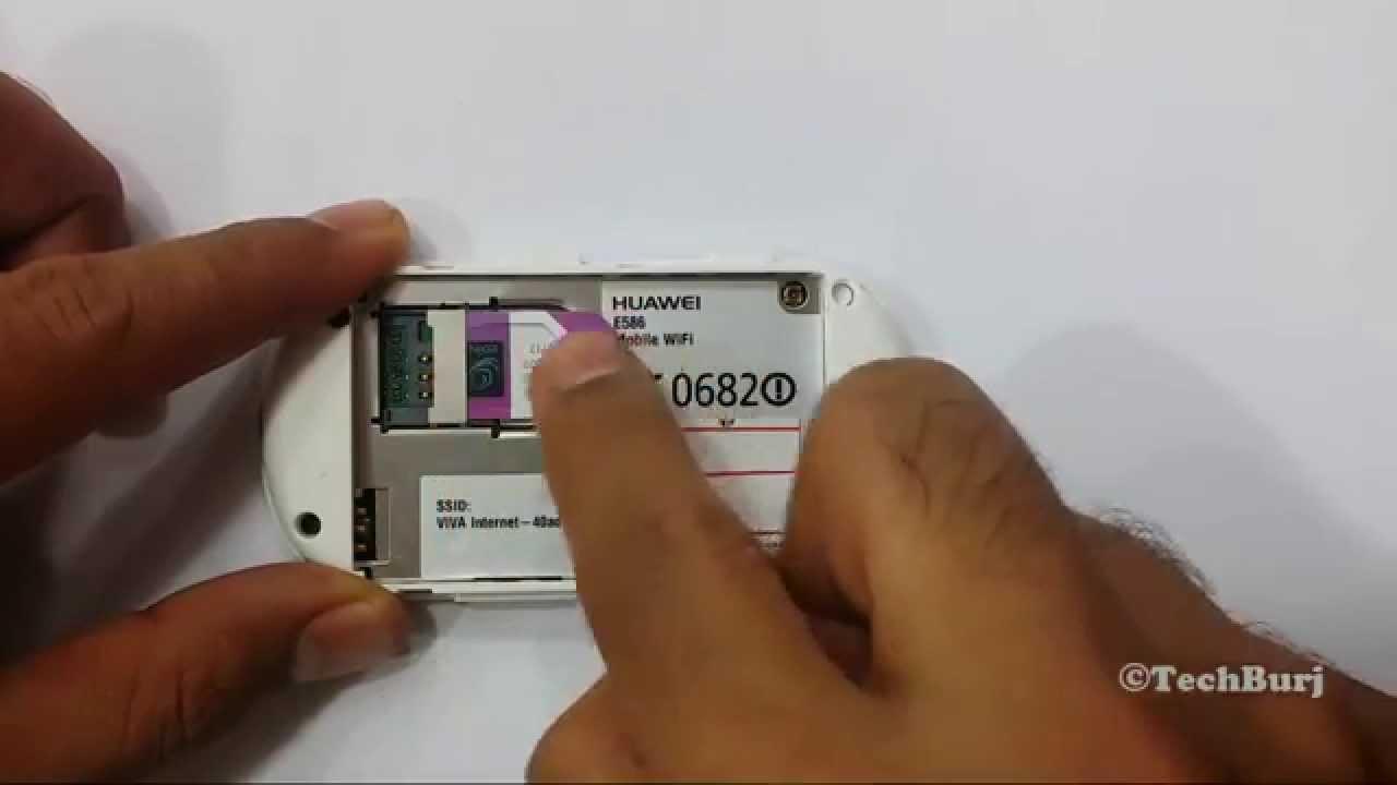 How To Unlock Huawei Mobile WiFi E585, E586, E5832