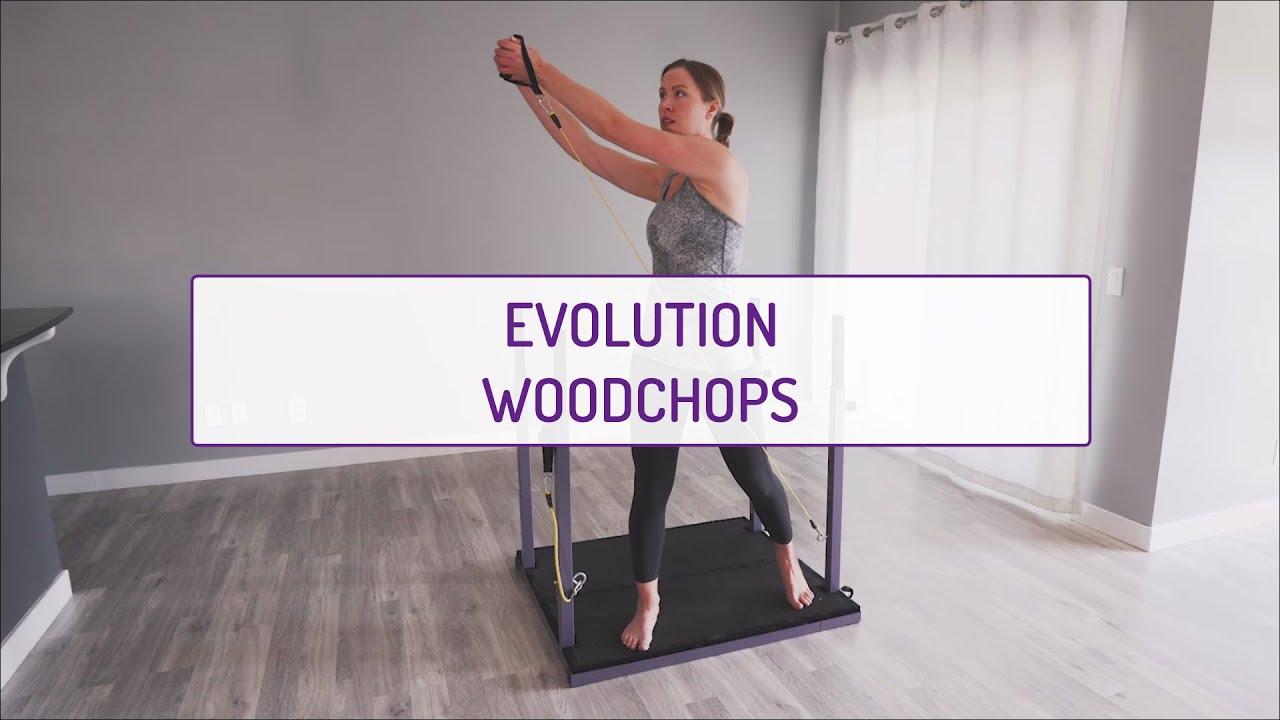 Home Exercises | Evolution Woodchops | Core | Obliques