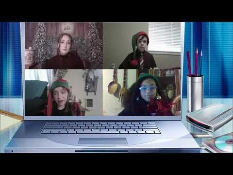 Shahala Middle School Drama Club Produces Holiday Play Using Zoom