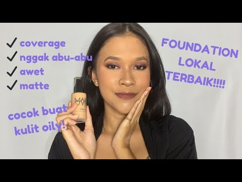 REVIEW Makeover Weightless Liquid Foundation - Indonesia