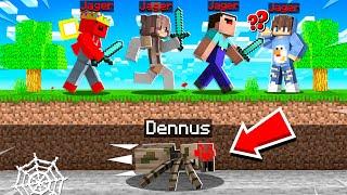 SPEEDRUNNER vs. JAGERS SPELEN Als Een SPIN! (Minecraft)