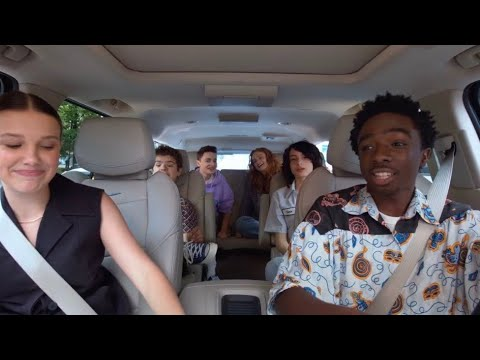 Stranger Things Cast Carpool Karaoke