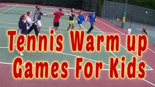 Tennis Warm Up Games For Kids - with Karl Stowell