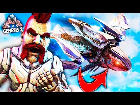 ARK - COMO CONSEGUIR LA NAVE ESPACIAL!! - #8 GENESIS 2 - Nexxuz