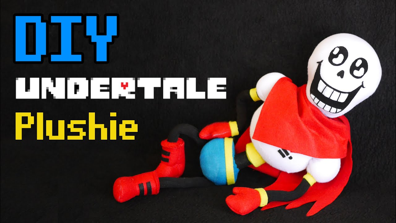 Cute Temmie Wallpaper Diy Undertale Papyrus Sock Plushie Free Pattern Youtube