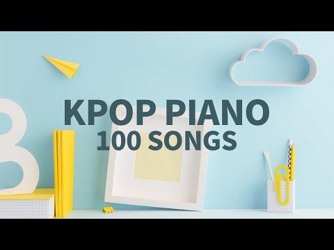 가요 피아노 100곡 나올 동안 집중해서 공부하기 6HOURS Kpop piano 100 songs