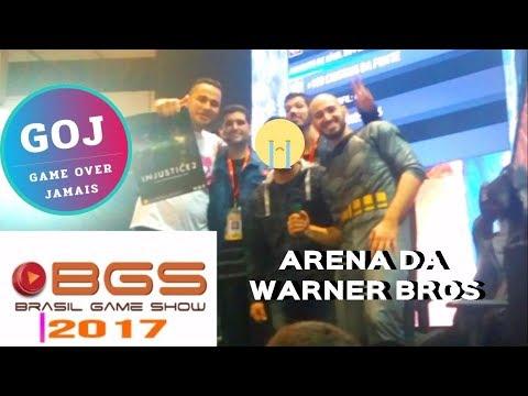 BGS 2017  NA ARENA DA WARNER BROS GAMES  INJUSTICE 2 NO PLAYSTATION 4  JOGAMOS