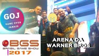 BGS 2017 |NA ARENA DA WARNER BROS GAMES| INJUSTICE 2 NO PLAYSTATION 4| JOGAMOS