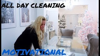 Full House Clean With Me all Day Motivational Cleaning Ultimate cleaning
