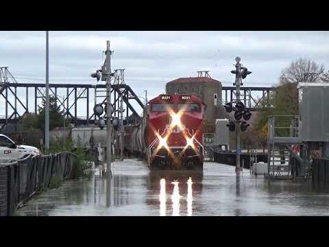 CP train creeps