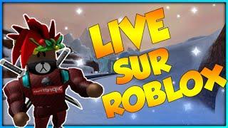 🔴LIVE ROBLOX| Je joue avec vous sur roblox | News