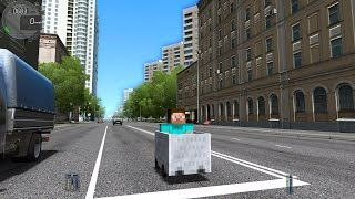 City Car Driving 1.5.3 Minecraft Car TrackIR 4 Pro [1080P]