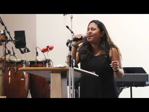 2017 07 09 Holy Sprit as sung by Adriana Corrales