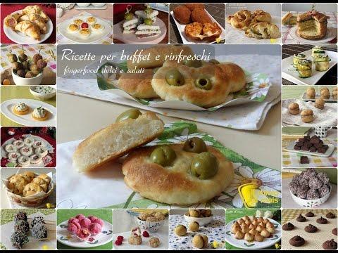 Buffet di dolci ricette