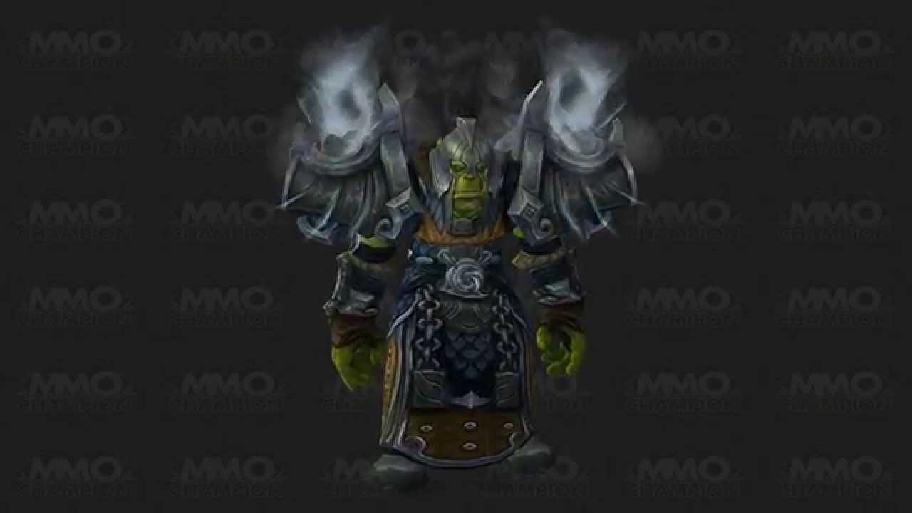 Warlords Of Draenor Wow Tier 17 Shaman Armor Set Youtube