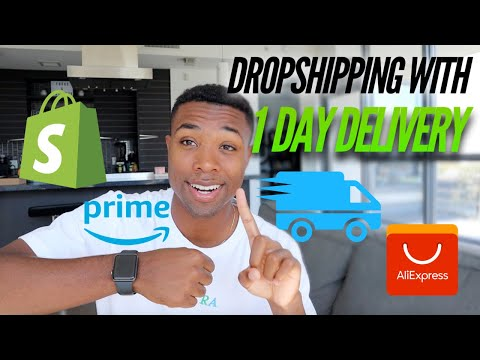 HOW I'M DROPSHIPPING WITH 1 DAY DELIVERY IN 2019?? (CRAZY) thumbnail