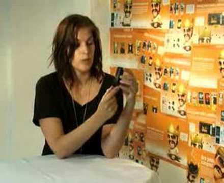Katshing testar Sony Ericsson W980