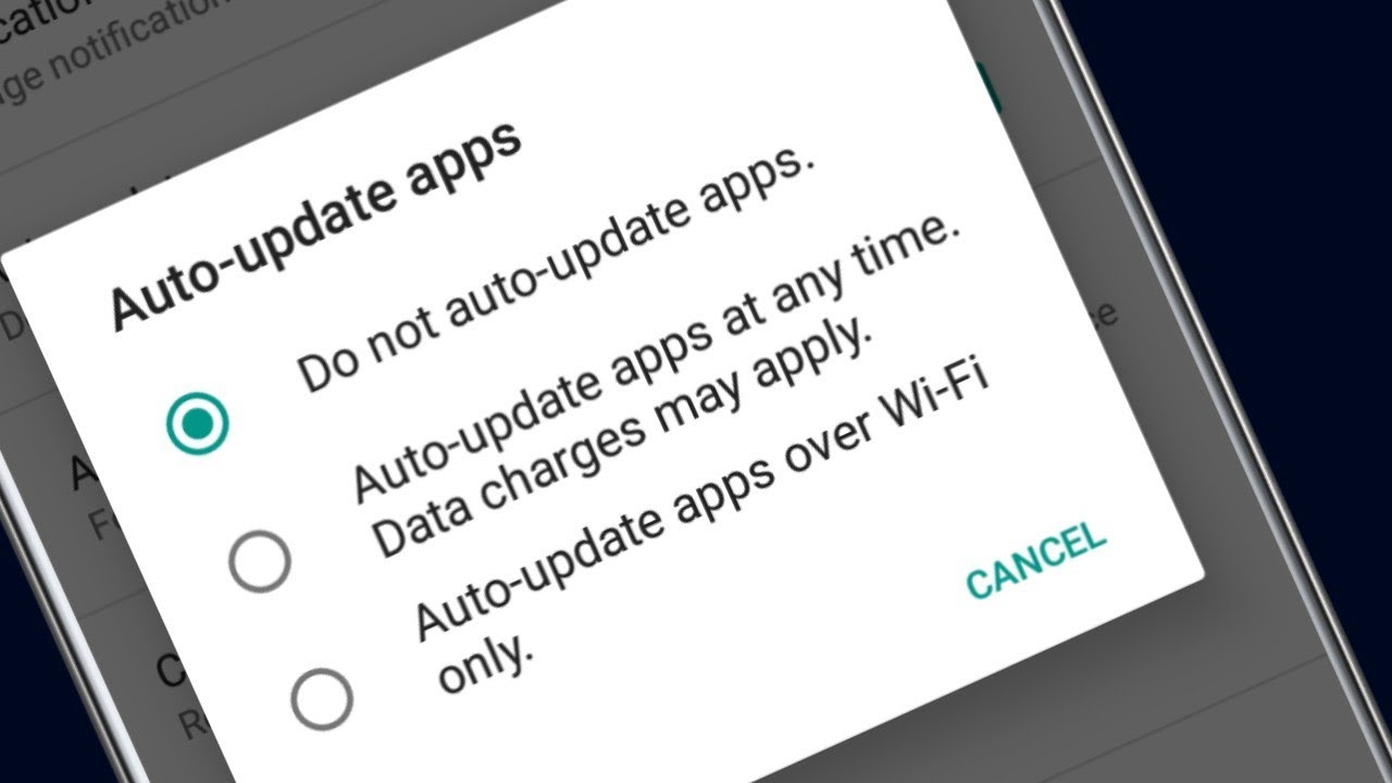stop auto update play store