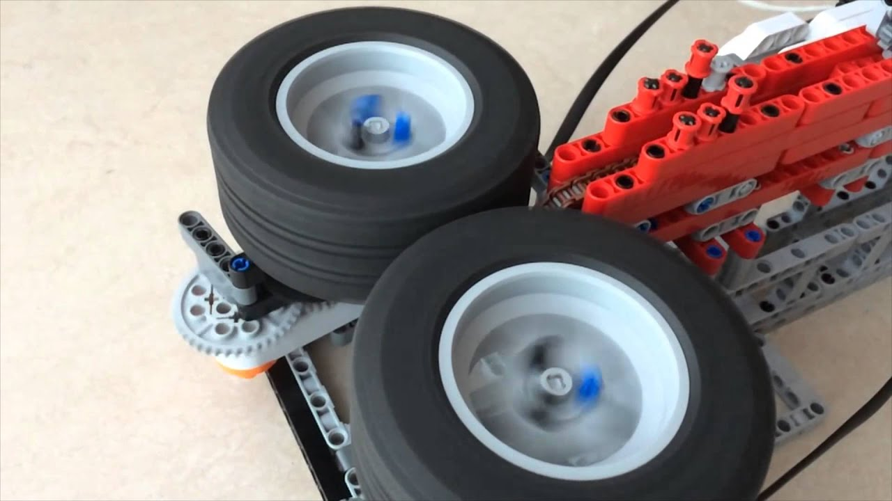 how to make ev3 stop at red