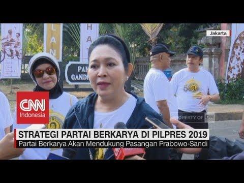 Strategi Partai Berkarya Di Pilpres 2019