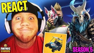 TIMTHETATMAN REACTS A TUTTI I NUOVI SEASON 5 SKINS E ITEMS! - #136 Fortnite Moments