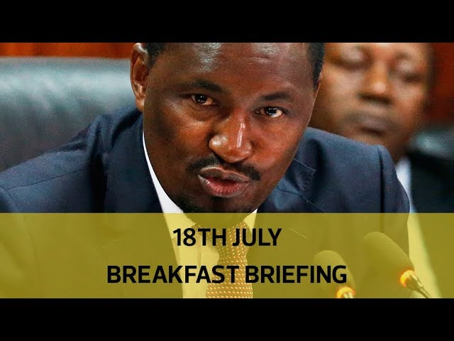 Kiunjuri's increasing woes, HIV possible breakthrough cure: Your Breakfast Briefing