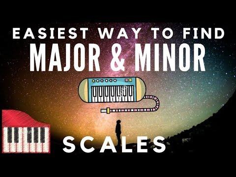 Two Ways  To Find Major and Minor Scales | Method To Memorize Scales