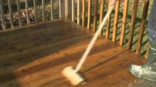 Wood Deck Refinishing Howto - Stripping Cleaning And Protecting