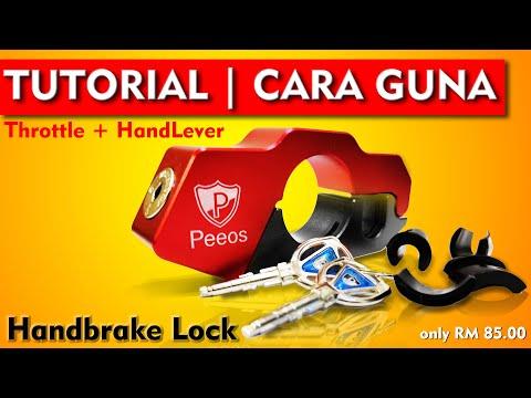 Peeos handbrake lock - standard version