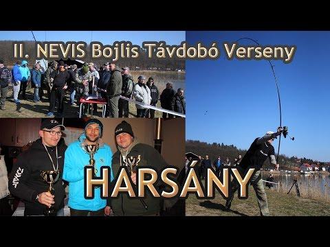 II Nevis Bojlis Távdobó Verseny beszámoló - Harsány