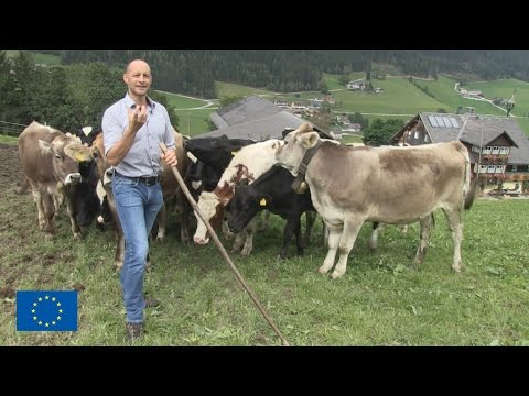 Austrian farmers turn nature's challenges into advantages
